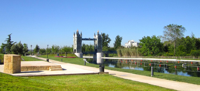 Puente de Londres en Parque Europa de Torrejón