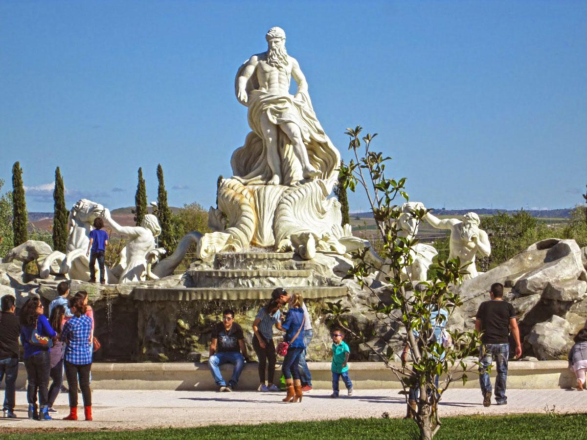 La Fontana en Parque Europa de Torrejón