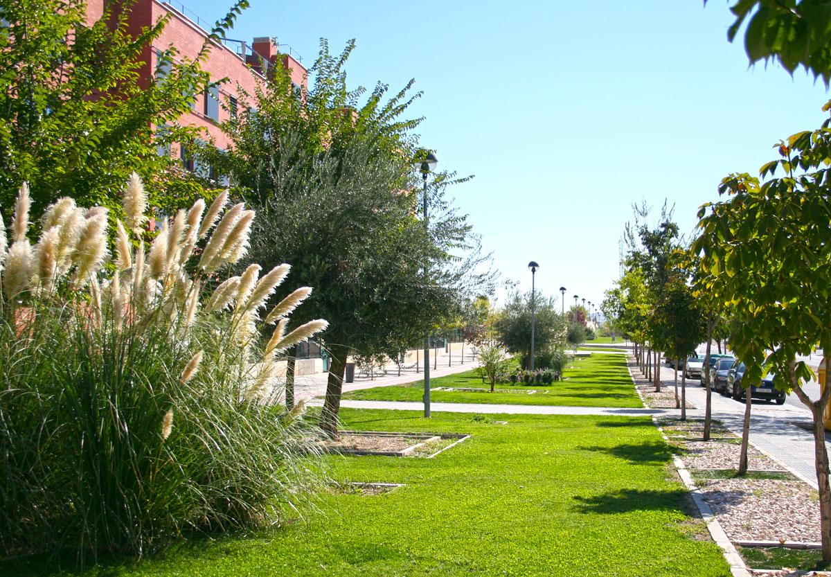 Paseo Joan Miró Soto de Henares