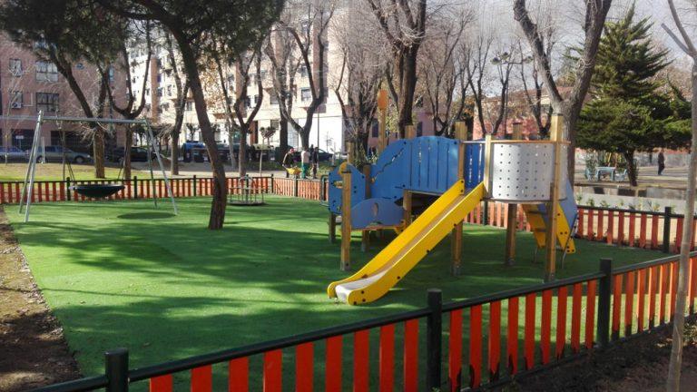Área de Juegos infantiles en Getafe