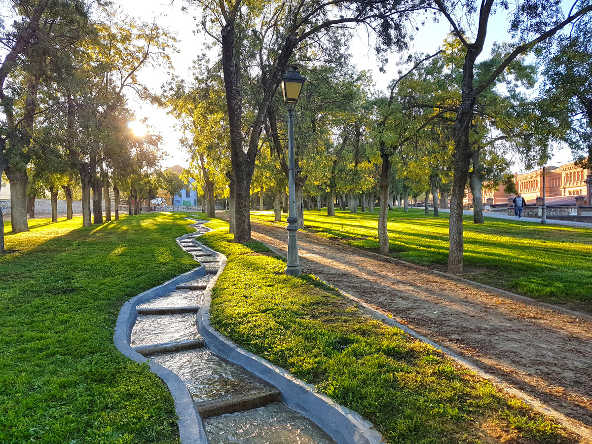 Parque Fuente de la Niña en Guadalajara