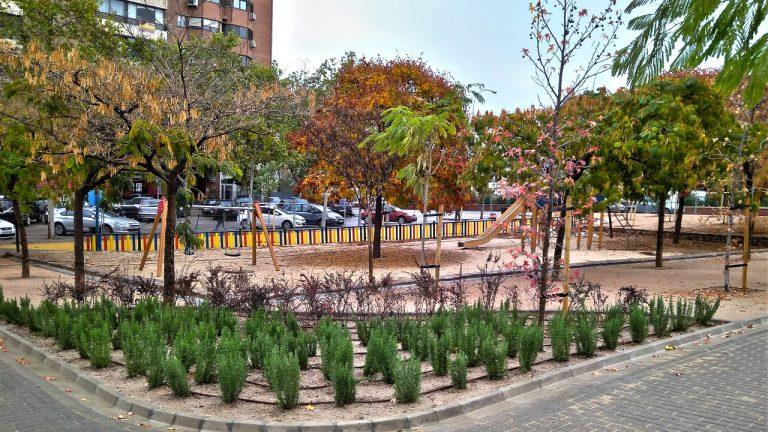 Actuaciones en el Parque de Corazón de María Madrid
