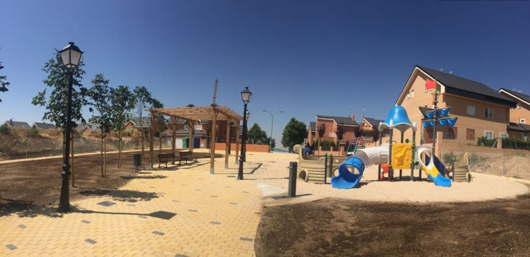 Parque María Guerrero en Mejorada del Campo