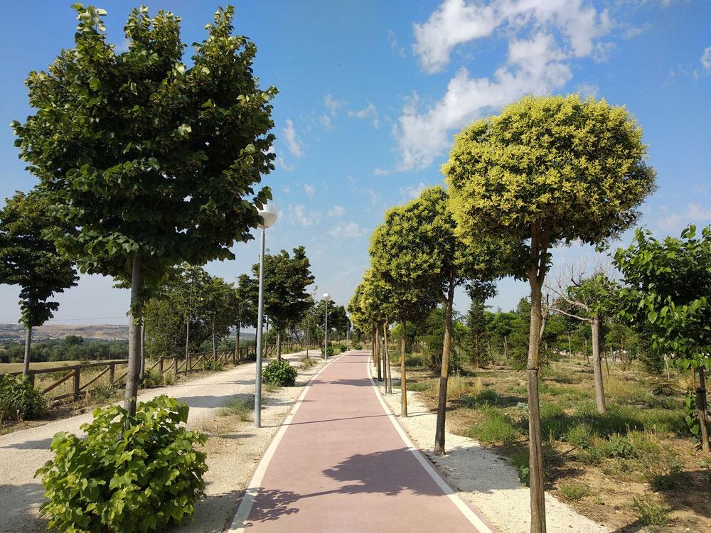 Carril bici Parque Miradores
